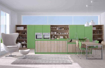 מטבח ירוק, טרנד עיצובי טוב?